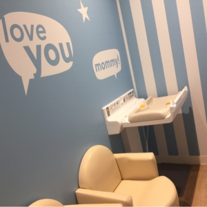 Gapストア 三宮店(4F)の授乳室・オムツ替え台情報 画像1