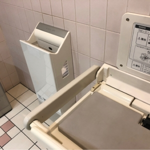 SS30(30F 女子トイレ内)(エスエスサーティー)のオムツ替え台情報 画像2