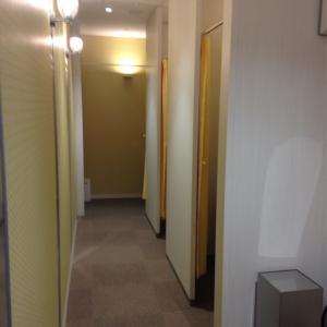 女性専用のスペース 個室3つ一番奥が広め