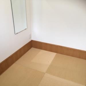 四畳の畳スペース