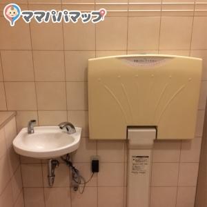 親子式と記載トイレの中