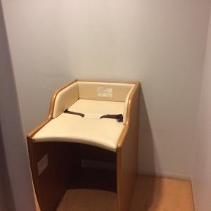 オムツ替えベッド。オムツ用ゴミ箱はないです