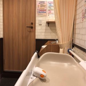 奥はトイレなので、もし誰か来ても授乳している際はカーテンを閉めれば問題なしです!