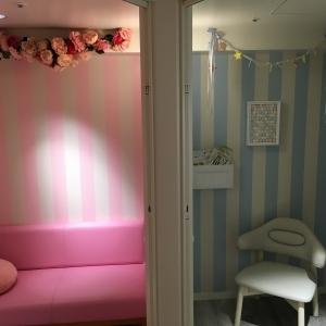 個室はデザイン違いが2部屋。