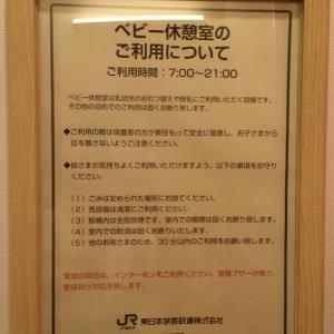 JR中野駅 南口改札内(1F)の授乳室・オムツ替え台情報 画像6