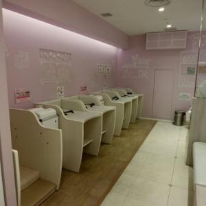 サンシャインシティアルパ 2Fベビー休憩室の授乳室・オムツ替え台情報 画像6