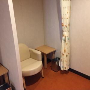 授乳室の授乳スペース