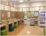イオンモール東員(全フロア 赤ちゃん休憩室)の授乳室・オムツ替え台情報 画像7