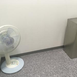 冬でも扇風機ありました