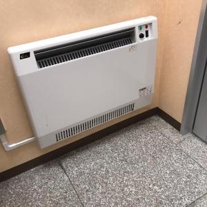 暖房もついていました