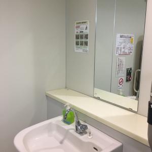 二階多目的トイレです