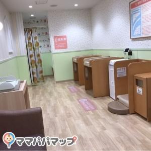 授乳室が2つ。
