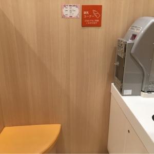 給湯器と流しと親子用の椅子がそれぞれ