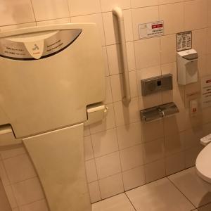 玉川高島屋本館(5階 女子トイレ)のオムツ替え台情報 画像2