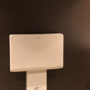 女子トイレ内オムツ台