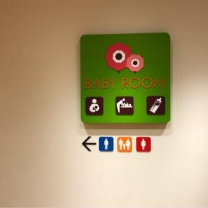 トイレ横のサイン