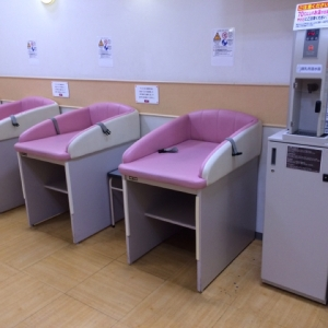 イオン橋本店(3階 赤ちゃん休憩室)の授乳室・オムツ替え台情報 画像6