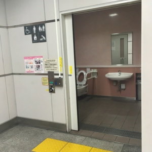 秋葉原駅(1F)の授乳室・オムツ替え台情報 画像6