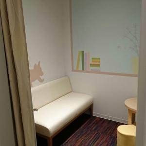 このような授乳室が2部屋あります 。
