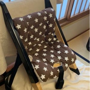 1歳児用に用意していただいた椅子です