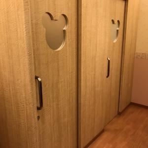授乳室の扉が可愛い