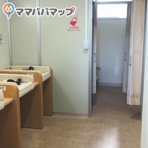新宿御苑 レストハウス横トイレ(1F)の授乳室・オムツ替え台情報 画像9