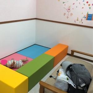 ベビールーム 授乳室手前のスペースです。