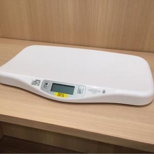 体重計が導入されていました!