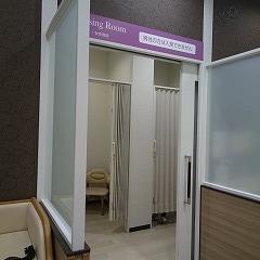 授乳室の入り口です