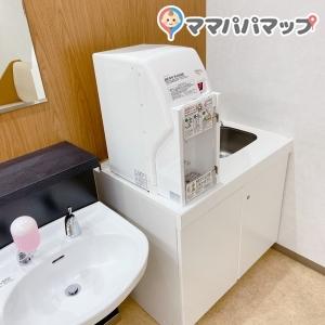 お湯、水道、手洗い場完備