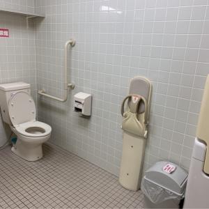 男性用トイレベビーチェア