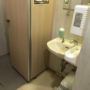 トイレ設備は古めですが清潔でした