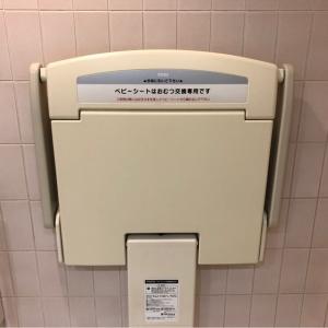 SS30(30F 女子トイレ内)(エスエスサーティー)のオムツ替え台情報 画像3