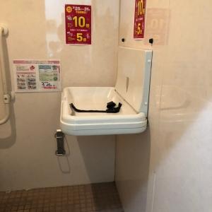 大賀薬局・ハローディ 長尾店 移動通路(1F)のオムツ替え台情報 画像1