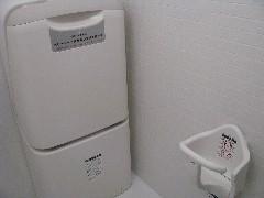 多目的トイレ内(おむつ替え台)