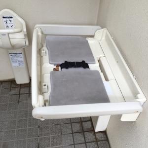 一ツ木公園(多目的トイレ)のオムツ替え台情報 画像3