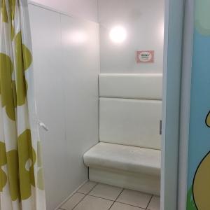 広々とした授乳室
