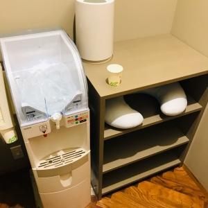 授乳室、ウォーターサーバー、クッションあり