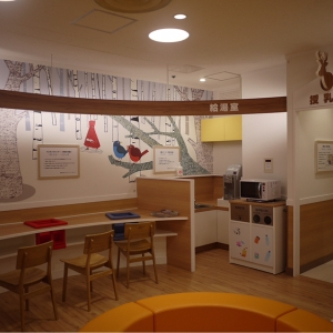 西武大津店(5階 ベビー休憩室)の授乳室・オムツ替え台情報 画像4