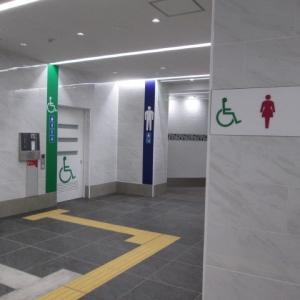 下北沢駅南西口トイレ(1F)のオムツ替え台情報 画像8