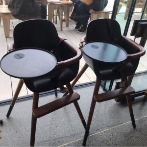 4階に子供用の椅子が置いてありました