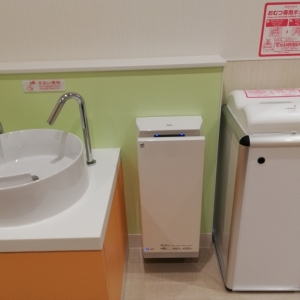 エディオンなんば本店(7F)の授乳室・オムツ替え台情報 画像12