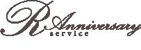 R Anniversary service