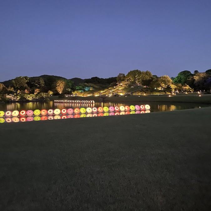 岡山店 キャンプ飯と後楽園幻想庭園