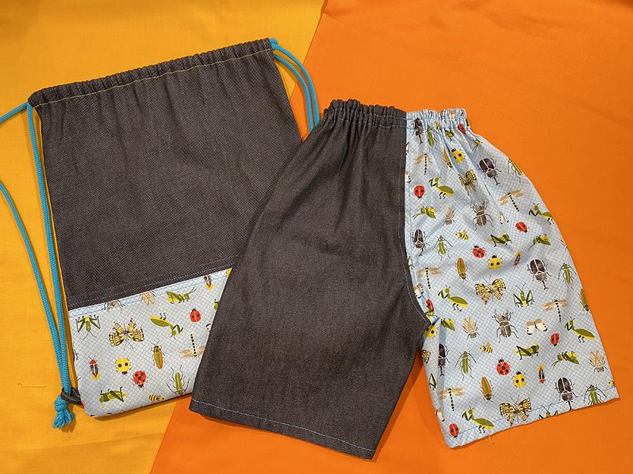 男の子のパンツ できあがり40分!うそじゃない 大好きな布で履きやすいパンツ作りませんか?
