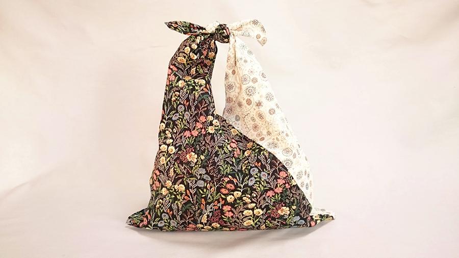 袋 手ぬぐい あずま 2辺を縫うだけ!手ぬぐい1枚で作るあずま袋。
