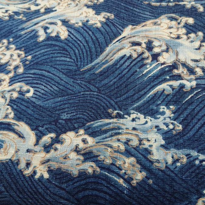 ドビー織りの和柄