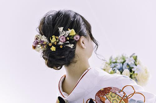 山梨のフォトスタジフォーレではお着物用の髪飾りも数多く、種類豊富に取り揃えております!!
