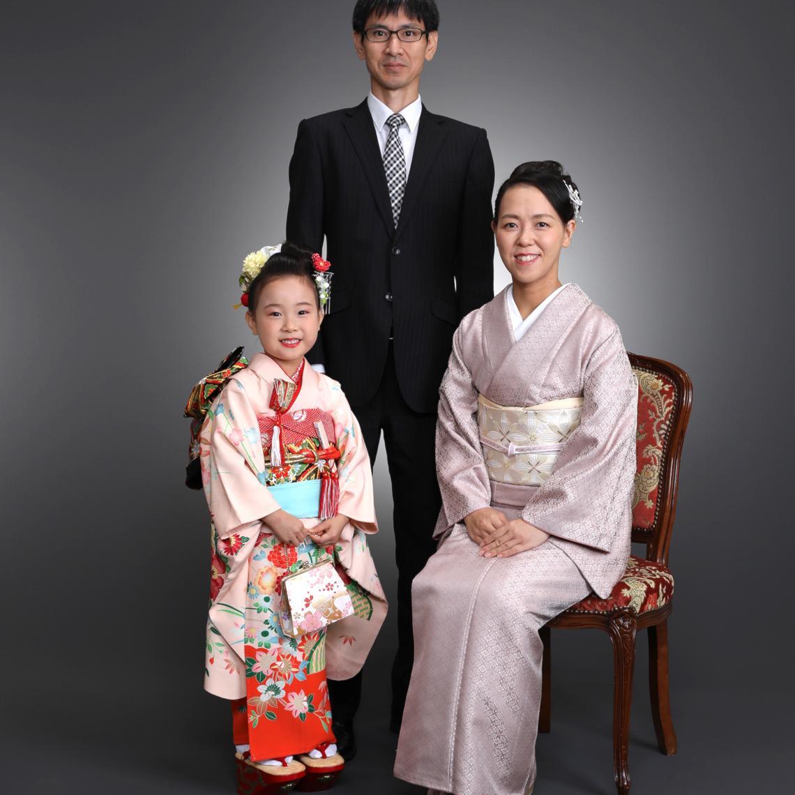 七五三 ご家族写真