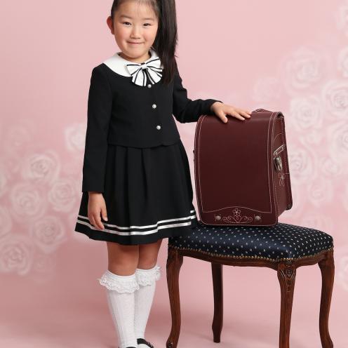 小学校入学 女の子 洋装写真